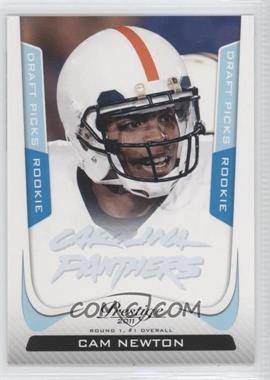 2011 Panini Prestige Draft Picks Light Blue #214 - Cam Newton /999