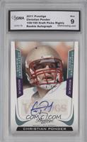 Christian Ponder /199 [ENCASED]