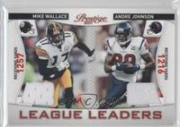 Mike Wallace, Andre Johnson /200