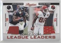Arian Foster, Dwayne Bowe /200