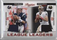 Drew Brees, Tom Brady /200