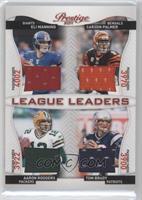 Aaron Rodgers, Carson Palmer, Tom Brady, Eli Manning /100