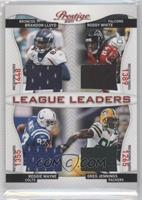 Brandon Lloyd, Greg Jennings, Reggie Wayne, Roddy White /100