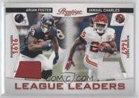 Arian Foster, Jamaal Charles /200
