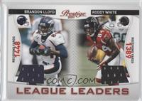 Brandon Lloyd, Roddy White /200