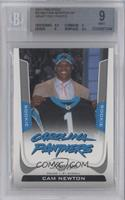 Cam Newton Draft Day Photo [BGS 9]