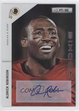 2011 Panini Rookies & Stars - [Base] - Rookies Holofoil Signatures [Autographed] #156 - Aldrick Robinson /300