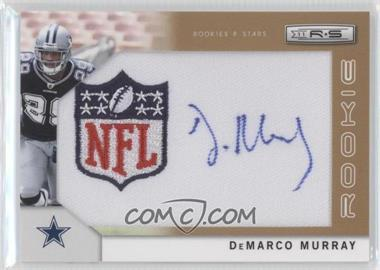 2011 Panini Rookies & Stars - [Base] - SP Rookies Gold NFL Logo Patch Signatures [Autographed] #264 - DeMarco Murray /25