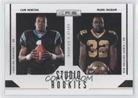 Cam Newton, Mark Ingram /100