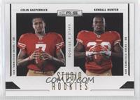 Colin Kaepernick, Kendall Hunter