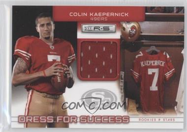 2011 Panini Rookies & Stars Dress for Success Jerseys #13 - Colin Kaepernick /299