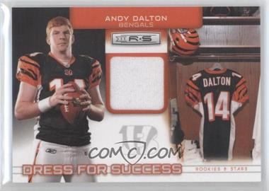 2011 Panini Rookies & Stars Dress for Success Jerseys #16 - Andy Dalton /299