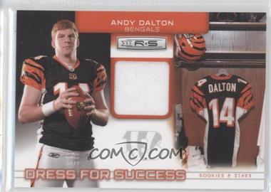 2011 Panini Rookies & Stars Dress for Success Jerseys #16 - Andy Dalton /299