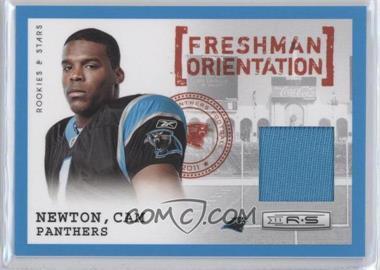 2011 Panini Rookies & Stars Freshman Orientation Jerseys #8 - Cam Newton /299