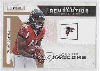 2011 Panini Rookies & Stars Rookie Revolution Gold #4 - Julio Jones /500