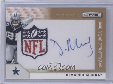2011 Panini Rookies & Stars Rookie Signatures NFL Equipment Shield Gold #264 - DeMarco Murray /25