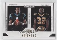 Cam Newton, Mark Ingram /500