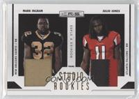 Julio Jones, Mark Ingram /50