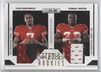 Kendall Hunter, Colin Kaepernick /50