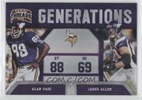 Alan Page, Jared Allen /100