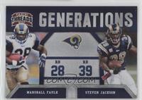 Steven Jackson, Marshall Faulk /100