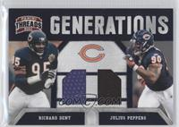 Julius Peppers, Richard Dent /299