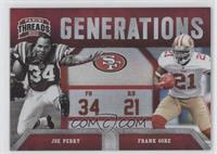 Joe Perry, Frank Gore /100