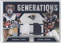 Marshall Faulk, Steven Jackson /230