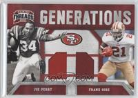 Frank Gore, Joe Perry /200