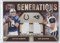 Peyton Manning, Sam Bradford /299
