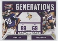 Alan Page, Jared Allen