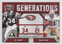Frank Gore, Joe Perry