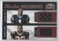Cam Newton, Mark Ingram /299