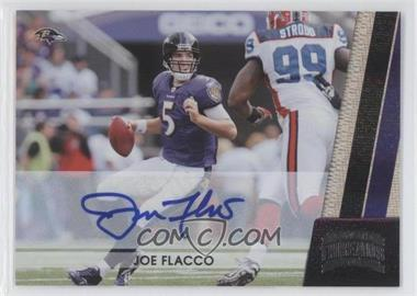 2011 Panini Threads Silver Signatures [Autographed] #11 - Joe Flacco /15