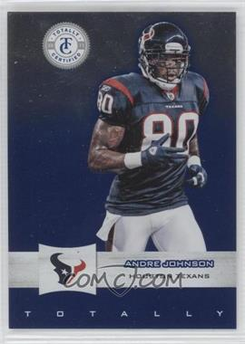 2011 Panini Totally Certified - [Base] - Totally Blue #27 - Andre Johnson /50