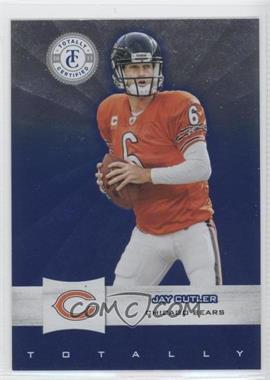 2011 Panini Totally Certified - [Base] - Totally Blue #71 - Jay Cutler /50