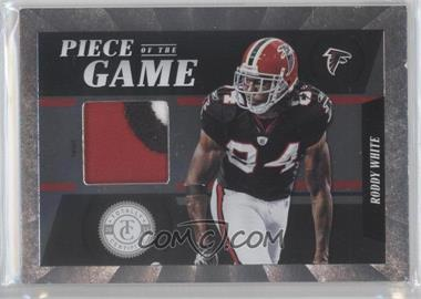 2011 Panini Totally Certified - Piece of the Game - Prime #2 - Roddy White /49