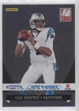 2011 Panini Totally Certified Pepsi Rookie of the Week '11 #4 - Cam Newton (Elite)