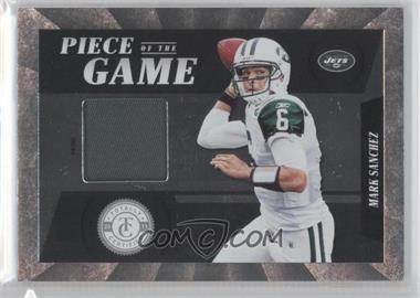 2011 Panini Totally Certified Piece of the Game Prime #38 - Mark Sanchez /49