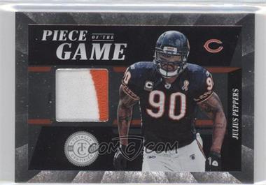 2011 Panini Totally Certified Piece of the Game Prime #59 - Julius Peppers /49