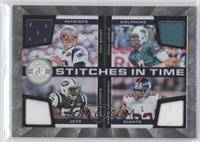 Mario Manningham, Tom Brady, Chad Henne, David Harris /150