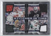 Mark Sanchez, Matt Cassel, Ronnie Lott, Clay Matthews /150