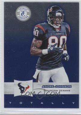 2011 Panini Totally Certified Totally Blue #27 - Andre Johnson /50
