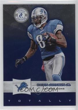 2011 Panini Totally Certified Totally Blue #67 - Calvin Johnson Jr. /50