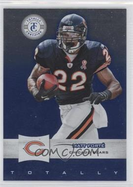 2011 Panini Totally Certified Totally Blue #72 - Matt Forte /50