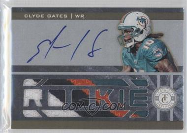 2011 Panini Totally Certified Totally Gold #209 - Clyde Gates /25