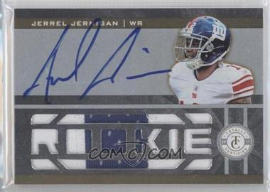 2011 Panini Totally Certified Totally Gold #217 - Jerrel Jernigan /25