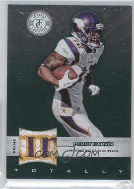 2011 Panini Totally Certified Totally Green Materials Prime [Memorabilia] #75 - Percy Harvin /5