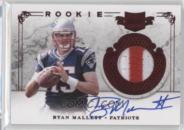 2011 Plates & Patches - [Base] #224 - Ryan Mallett /299