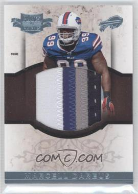 2011 Plates & Patches - RPS Rookie Jumbo Materials - Prime #24 - Marcell Dareus /15